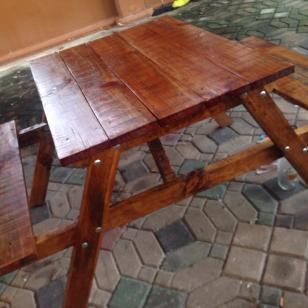 Mesa para jardin