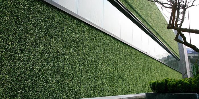 Venta e instalación de muros verdes artificiales